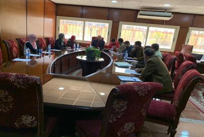 اجتماع المجلس التنفيذى لوحدة ضمان الجودة والتطوير المستمر عن شهر فبراير 2020