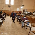 جولة تفقدية لوكيل الكلية لشئون التعليم والطلاب للجان الامتحانات بالكلية