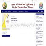 لأول مرة بجامعة مدينة السادات المجلة العلمية الإلكترونية باللغة الإنجليزية لكلية التربية الرياضية
