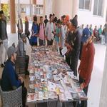 فاعليات معرض الكتاب الاول بكلية التربية الرياضية جامعة مدينة السادات