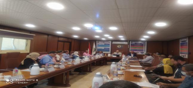 اجتماع مجلس الكلية عن شهر سبتمبر 2021