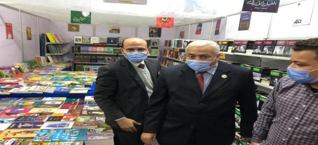 افتتاح معرض الكتاب السنوى الثالث فى رحاب كلية التربية الرياضية جامعة مدينة السادات