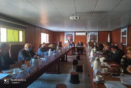 اجتماع مجلس الكلية عن شهر فبراير 2021