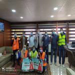 ختام زيارات صندوق مكافحة وعلاج الإدمان والتعاطي لكلية التربية الرياضية جامعة مدينة السادات