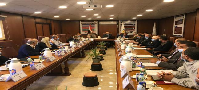 اجتماع مجلس الكلية عن شهر نوفمبر 2020