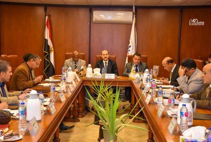 اجتماع مجلس كلية التربية الرياضية عن شهر فبراير 2020