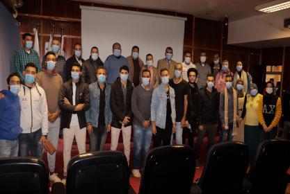 الطب البيطرى يستضيف المرحلة النهائية لانتخابات اتحاد الطلاب على مستوى كليات الجامعة