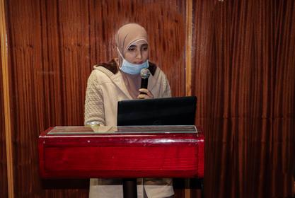 مناقشة رسالة الدكتوراه الخاصه  بالسيدة ط.ب/ مى محمد عبدالمقصود