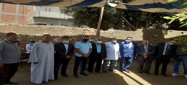قوافل قرية سيدي صالح بمركز الشهداء محافظة المنوفية