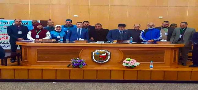 نطلاق فعاليات مسابقة حفظ القرآن الكريم بأسبوع الجامعات الأول بسوهاج