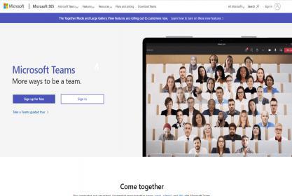 شرح تفصيلى لكيفية دخول أعضاء هيئة التدريس على منصة (Microsoft Teams )