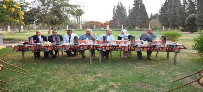 حفل أفطار برعاية كلية الطب البيطرى