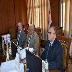 مقابلات واختبارات للوظائف القيادية بجامعة السادات.