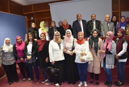 قاعة السيمنار بالكلية تستضيف مؤتمر المرأة المصرية والصحة الإنجابية