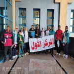 جامعة مدينة السادات على منصة التتويج بمارثون الجري ضمن فعاليات الأسبوع الأول لأعضاء هيئة التدريس والعاملين والطلاب بجامعة سوهاج