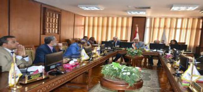 مجلس الجامعة يوافق على الأعداد المقترح قبولها للعام الدراسى المقبل